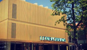 La façade du musée Lenbachhaus Munich
