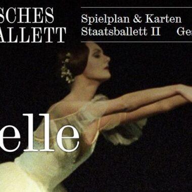 Affiche Giselle Bayerisches Staastoper München