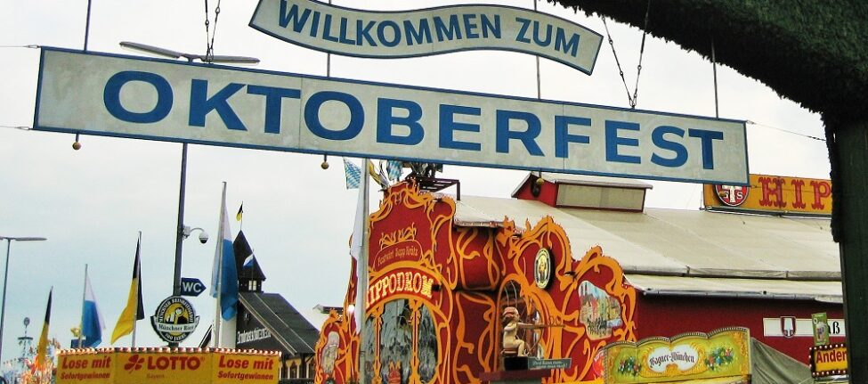 L'entrée de l'oktoberfest Munich
