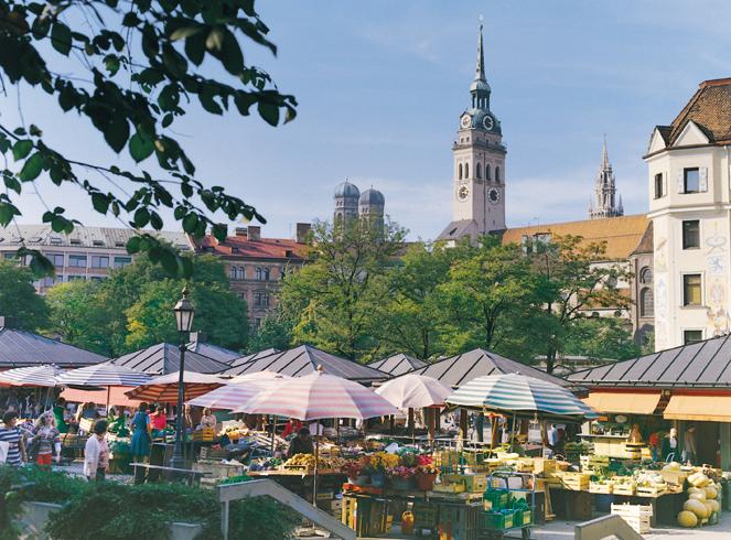 Viktualienmarkt © München tourismus-L.Kaster