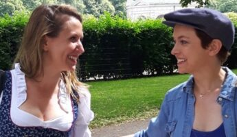 Kirsten Rhein et Sophie Jovillard de échappée belle Munich