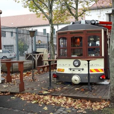 Le tram café à Munich