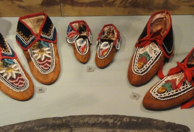 Mocassins au Musée des 5 continents Munich