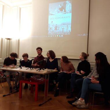 Débat Lycée Jean Renoir à Munich
