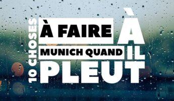 Choses à faire quand il pleut à Munich