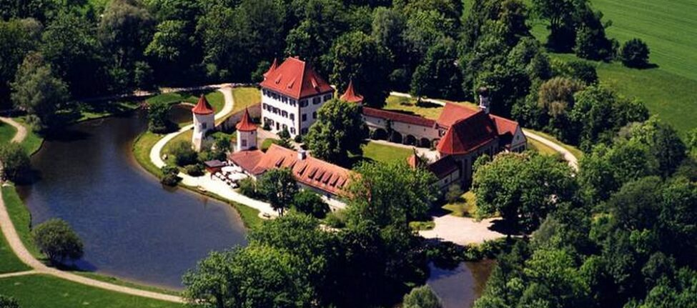 La bibliothèque du château de Blutenburg