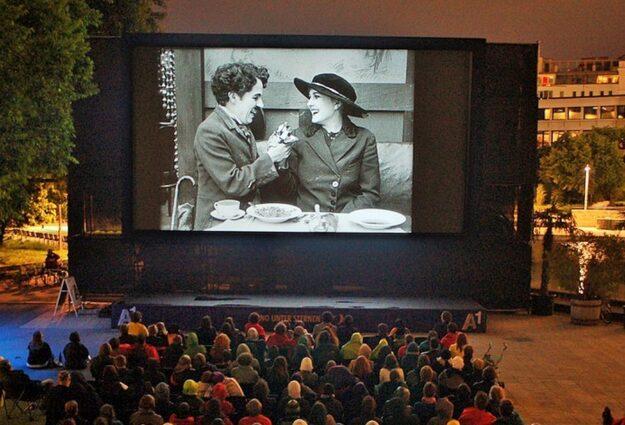 Cinema en plein air Munich