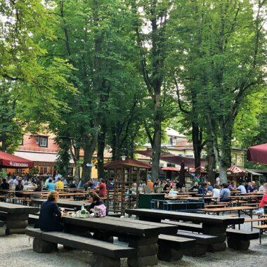 Biergarten Menterschwaige Munich