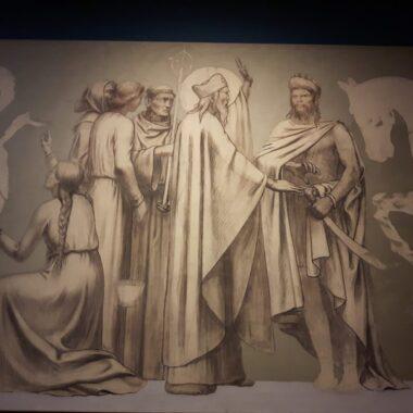 Puvis de Chavannes, à Kunsthalle à Munich