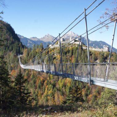 pont suspendu de Reutte Highline 179