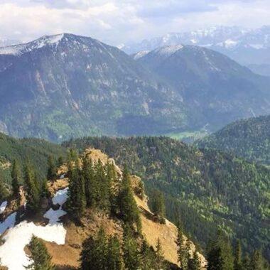 Vue depuis la montagne Laber