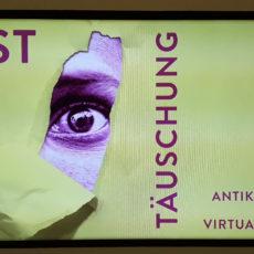 Affiche de l'expo Lust der Täuschung à la Kunsthalle de Munich © A.Tondre