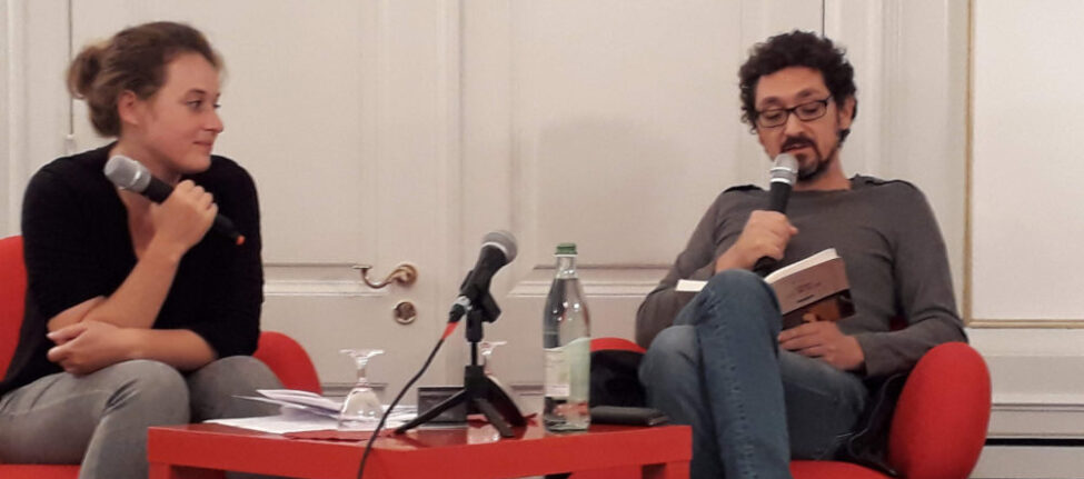 David Foenkinos à l'Institut français de Munich
