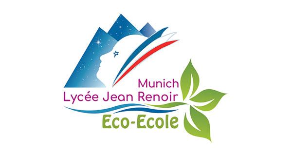 Logo Eco-Ecole, Lycée Jean Renoir