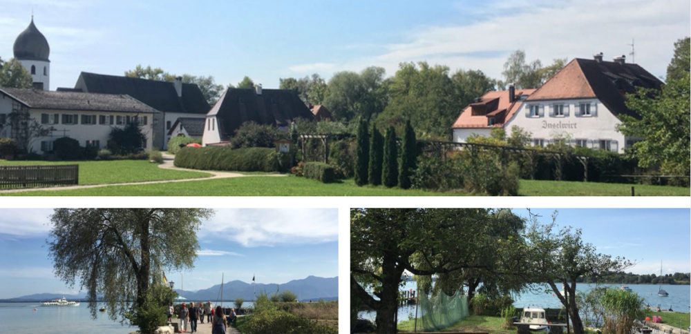 Photo monatge Fraueninsel par Thoams Gesland