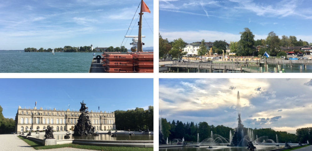 Photo montage d'Herenchiemsee lac de Chiemsee par Thomas Gesland