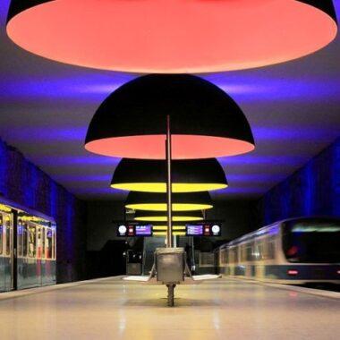 Metro à Munich