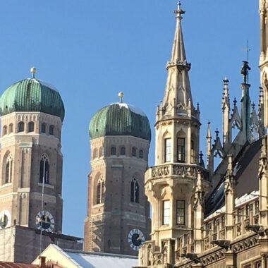 Neues Rathaus et la Frauenkirche de Munich