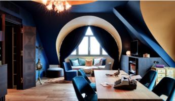 Lounge de l'hotel The Royal Bavarian