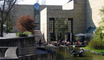 Façade de La neue Pinakothek de Munich