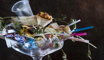 Coupe de déchets, photo Caroline Martin