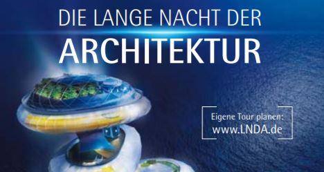 Affiche de Nuit de l'architecture