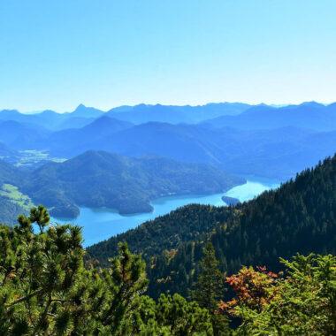 Paysage Walchensee