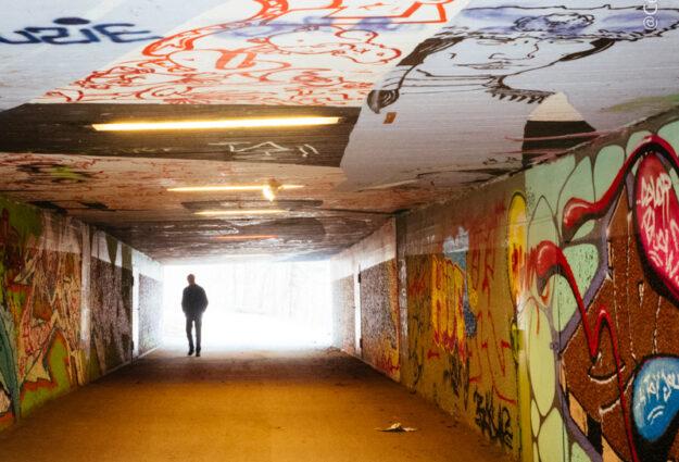 Tunnel Munich insolite