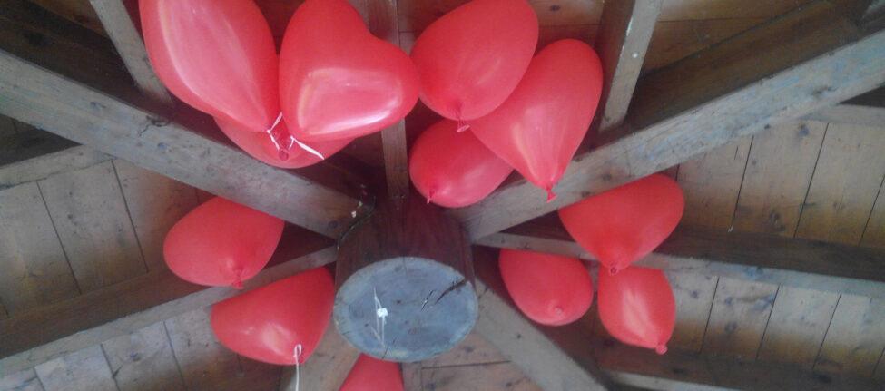 Ballons spécial Saint Valentin, München Westpark