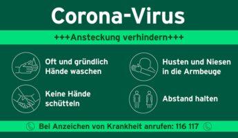 Affiche Coronavirus © Bundesregierung corona virus