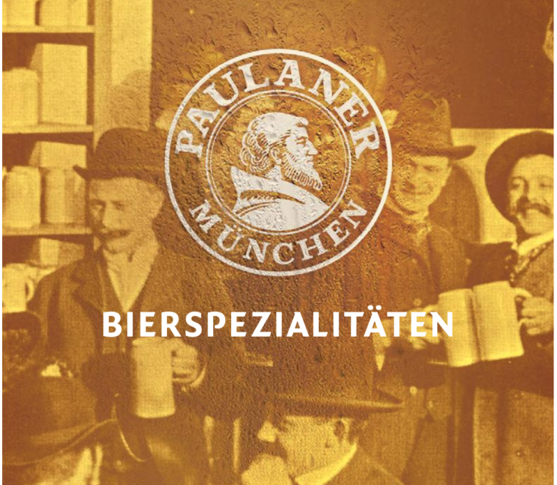 © Paulaner - Carte des bières