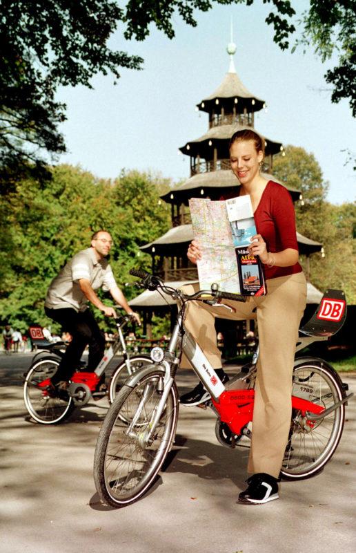 Call A Bike Chinesischer Turm © Deutsche Bahn AG