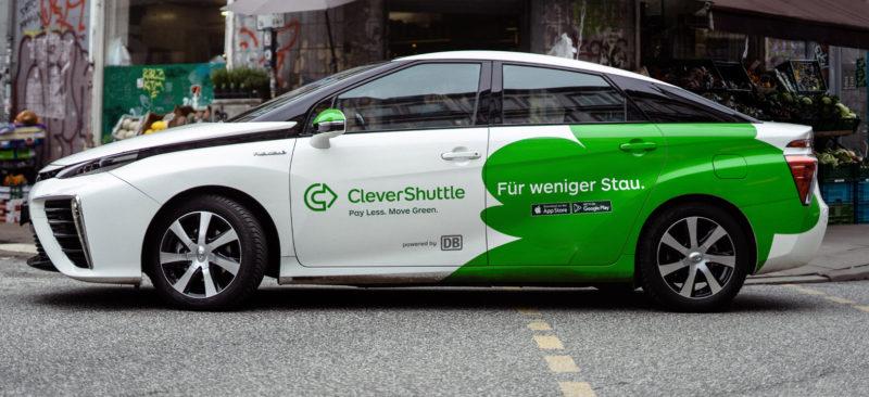 Taxi partagé à Munich © Clever Shuttle