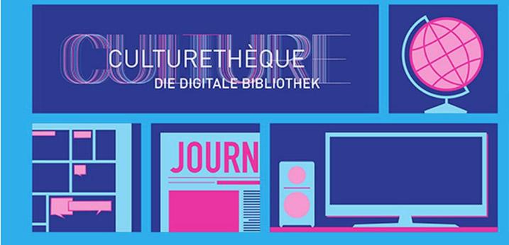 Screenshot de la Culturethèqe de l'Institut français de Munich