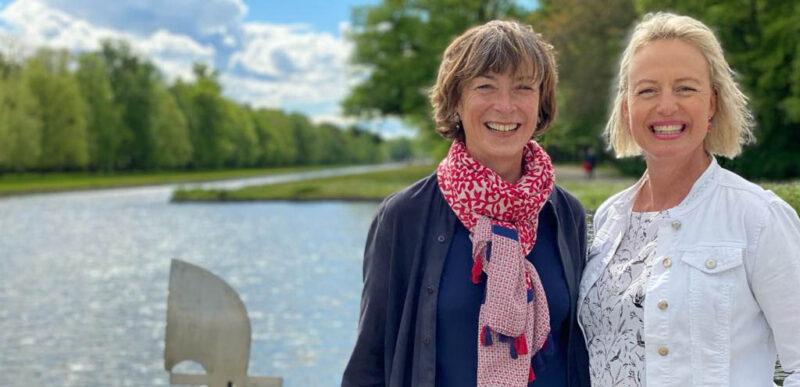 Agnès Tondre et Laure Wilkinson