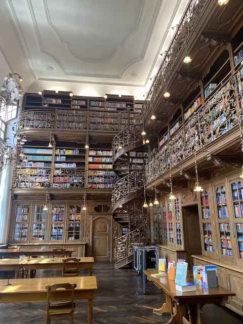 La bibliothèque juridique de Munich
