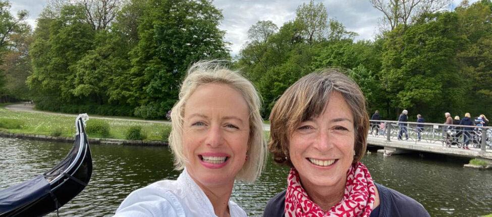Nouveau duo de Vivre A Munich : LAure Wilkinson et Agnès Tondre