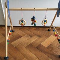Vends : Mobile en bois bébé - 7€